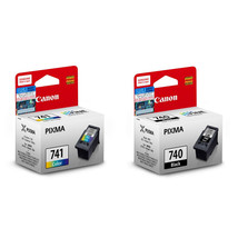 Canon PIXMA Ink Cartridges (for MG4270), PG-740 Black and CL-741 Tri-Color Set - $59.99