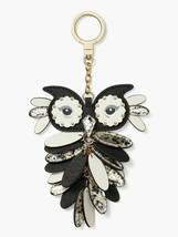 NWT Kate Spade Multicolor New York Keychain Key Fob Owl Keychain Charm - $45.83