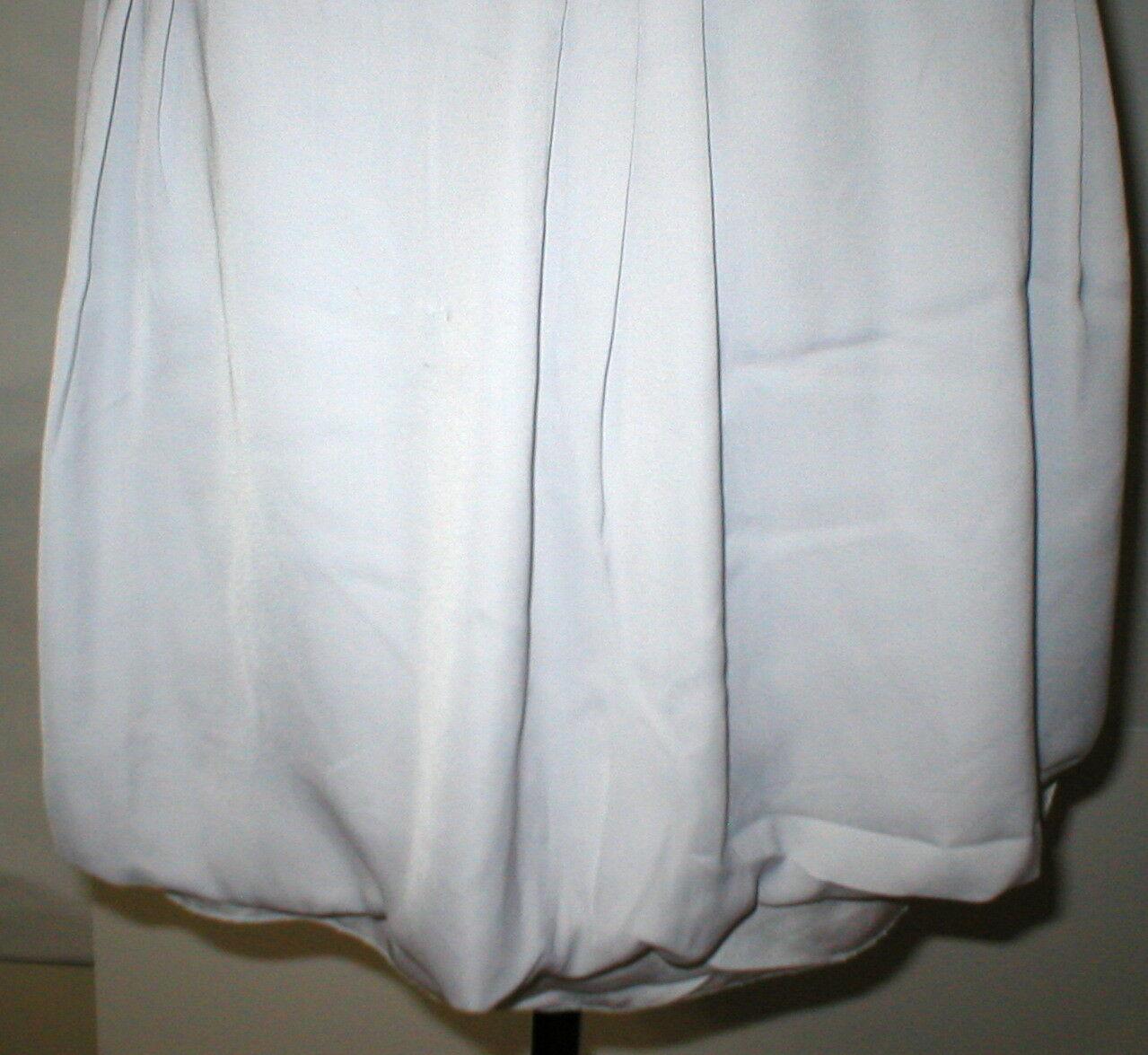 NEW Womens Gap Bubble $50 Skirt NWT 14 Mini Starlight Very light Grayish Purple image 6