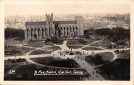Sydney Australien ~ Hyde Park ~ st MARY'S Basilika ~ Erhöhte Blick Echt ... - $7.90