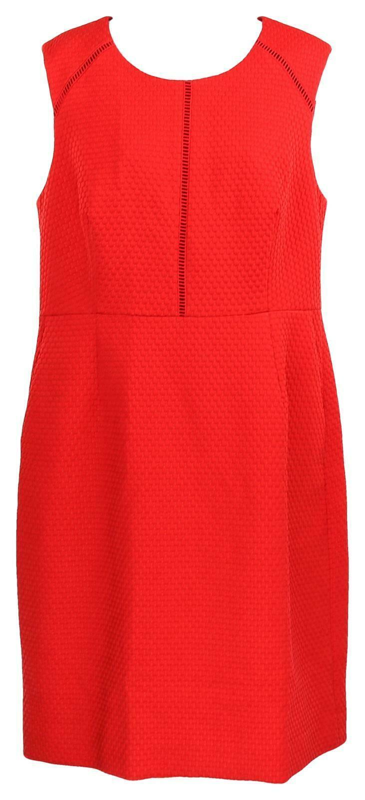 Primary image for J Crew Women's Portfolio Sheath Dress /Suiting Career Work Red  12 F0791