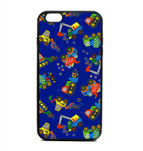 Phone Case Truck Tractor Blue Print Pattern iPhone 4 5 6 7 Plus Galaxy S... - $14.89
