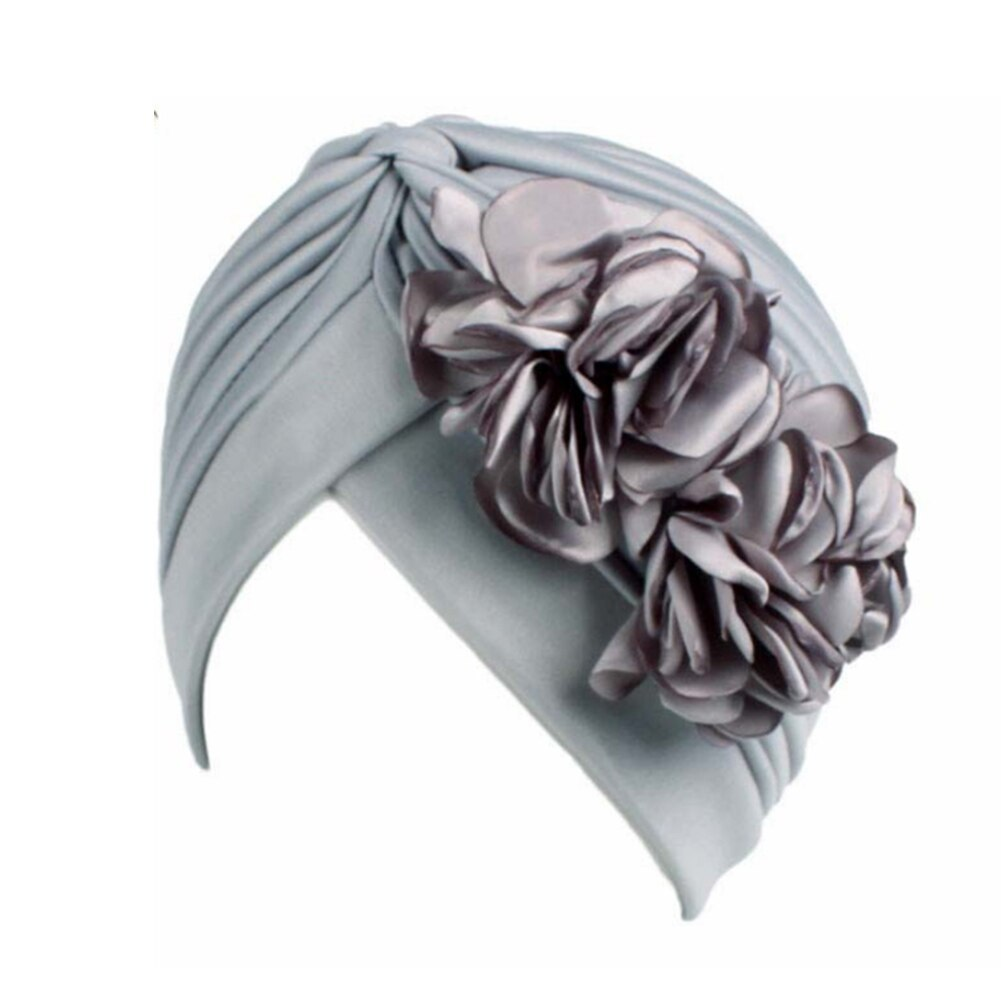 Primary image for Vintage Big Double Flower Headbands For Women Female Fashion Turban Caps Bandana