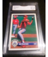 1993 Donruss Mo Sanford GMA graded 8.5 NM-MT+ Baseball Card number 760 - $9.99