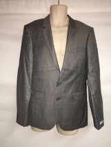 Express Blazer Suit Jacket 42 Long Innovator Extra Slim Mens Gray NWT $298 - $120.94