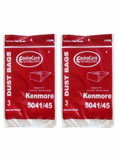 Primary image for 6 Kenmore #20-5045 Type H Canister Vacuum Cleaner Bag Model 203040 24025 23040 2