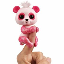 WowWee Fingerlings Glitter Panda -  Polly (Pink) - Interactive Collectib... - $21.95