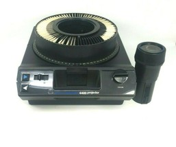 Kodak 4400 Carousel Slide Projector 102-152mm f3.5 Zoom, Remote - Excell... - $93.46