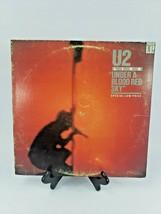 U2 LIVE: UNDER A BLOOD RED SKY, LP record, original 1983 - $10.89