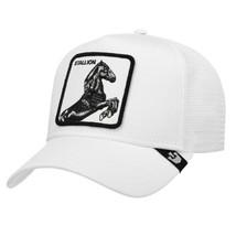 Goorin Bros Snapback Mesh Cap Animal Farm Trucker Hat White Stallion image 1