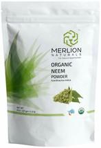 MERLION NATURALS Organic Neem Leaves Powder (Azardirachta Indica) - 227 ... - $15.69