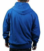 Dunkelvolk Life is Now Snorkel Blue Yellow Hoodie Hooded Sweater Peru Surf NWT image 3