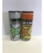 Rockstar Energy Drink Limited Edition 8.4oz Cucumber Lime & Boom Whipped... - $22.99