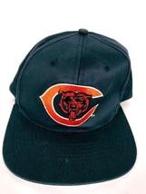 Chicago Bears NFL Football Snapback Hat Blue Orange Embroidered Drew Pearson - $14.07