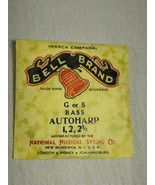 Bell brand AutoHarp Strings G or 5 bass 1, 2, 2 3/4 (a12-8) - $14.85