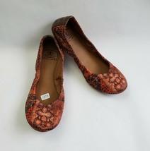 Lucky Brand Shoes Multi-Color Ballet Flats Emmiez Womens Size US 6.5 EU ... - $49.45