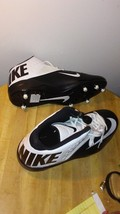 NEW Nike Code Pro  Football Cleats Size 15 (Black/White) 579669-010 - $27.00