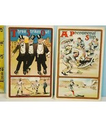 Two Vintage 1900's Baseball Theme Postcards #312 & 317 in A Series - $19.75