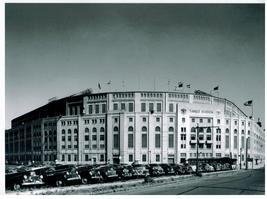 Yankee Stadium 1950 New York Yankees Vintage 8X10 BW Baseball Memorabili... - $5.99