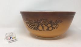 "Vintage Pyrex 2 1/2 Quart Mixing Bowl, #403, ""Old Orchard Gold"" Pattern - Nice! - $12.99"