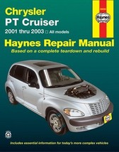 Chrysler P/T Cruiser 2001 Thru 2003 by John Haynes Repair Manual Paperback - $17.99