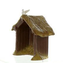 Hagen Renaker Specialty Nativity Manger with Dove Ceramic Figurine image 5