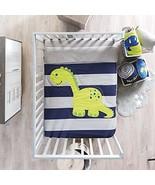 Boy Bedding Crib Set Nursery Dinosaur Dino Blue for Baby Shower Material... - $94.00