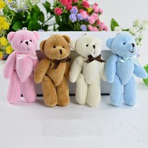 50Pcs/lot 8cm bow tie joint Teddy bear plush Toys Gift, DIY creative han... - $50.40