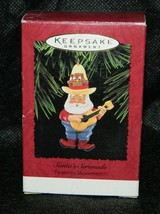 1995 Hallmark Keepsake Santa's Serenade Features Movement Xmas Ornament - $9.90