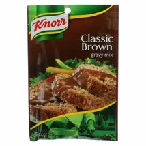 Knorr Gravy Mix - Classic Brown - 1.2 Oz - Case Of 12 - $34.45