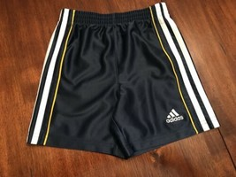 06bb15c1579 Toddler Boys Adidas Blue Shorts With White Stripes Size 2T - $13.27