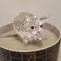 SWAROVSKI crystal PIG retired FIGURINE #7638 nr 050 009 Box  - $34.95