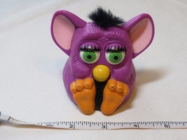 Furby McDonald's plastic toy purple movement noise 1998 Tiger electronic... - $24.74