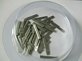 Walthers Track # 948-83102 Nickel Silver Rail Joiners Package of (48) HO Scale image 1