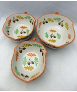 Temp-Tations by Tara - Old World Brown - 3 Acorn/Fall harvest nesting bo... - $47.52