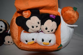 Nwt Disney Japon Halloween 2014 Tsum Complet Ensemble de 8 et Donald Sac 4tsum - $337.91
