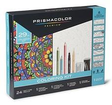 Prismacolor 1978739 Premier Pencils Adult Coloring Kit with Blender, Art... - $25.43