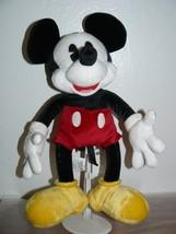 "Disney Mickey Mouse Bean Bag Plush Doll 15"" - $14.60"