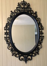 Vintage Large Oval Mirror Burwood - $44.55