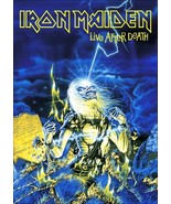 "Iron Maiden British Rock Band ""Live After Death"" Reproduction Stand-Up D... - $14.99"