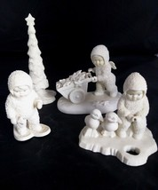 Lot Of 4 Snowbabies Dept 56 Retired No Boxes Angels Stars Tree Xmas Ducks - $51.43