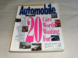 Automobile July 1995 Car Magazine 20 Cars Worth Waiting For Corvette BMW... - $9.43