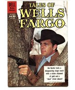 Four Color Comics #1075 Tales of Wells Fargo TV Photo cover NM- - $181.88