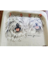 Artmore Barbara Johansson West Highland White Terrier Serving Tray - $39.55