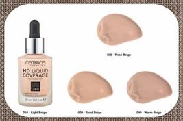 New Liquid Coverage Foundation 24h Mattifying Second Skin Effect 30ml CA... - $11.41+