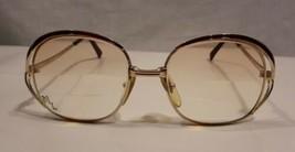 CHRISTIAN DIOR 2145 43 Gold/ Red Eyeglasses Sunglasses Frame, Vintage, A... - $63.11
