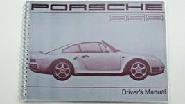 1987 1988 porsche 959 Owner's Manual new reprint  - $98.99