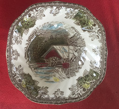"Johnson Brother's ""Friendly Village"" square cereal bowl - $11.00"