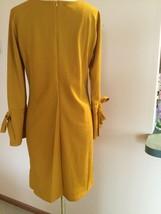 Women's Dress,XL,Yellow,Long Sleeves ,Armani Collezioni,NWOT image 2