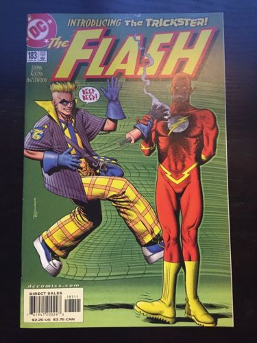 Flash (1987 2nd Series) #183 VF Very Fine DC Comics 1st Axel Walker
